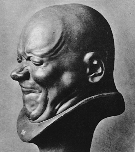 Messerschmidt head sculpture